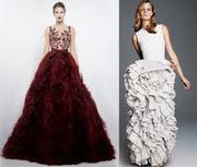 Продам красивое платье на выпускной.