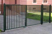 Садовые ворота с бесплатной доставкой в короткие сроки